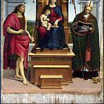 Raphael – The Ansidei Madonna, Part 6 National Gallery UK