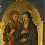 Zanobi Machiavelli – Saint Bartholomew and Saint Monica, Part 6 National Gallery UK