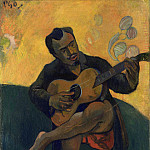 Part 6 National Gallery UK - The Guitar Player - Paul Gauguin