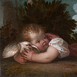 Titian or Titian workshop – A Boy with a Bird, Part 6 National Gallery UK