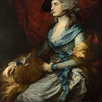 Mrs Siddons, Thomas Gainsborough