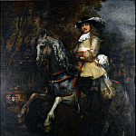 Rembrandt – Portrait of Frederick Rihel on Horseback, Part 6 National Gallery UK