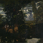 Theodore Rousseau – Moonlight – The Bathers, Part 6 National Gallery UK
