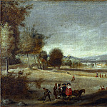 Spanish – Landscape with Figures, Part 6 National Gallery UK