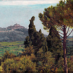The View of Montecelio from the Villa dEste, Tivoli – Matthew Ridley Corbet, Part 6 National Gallery UK