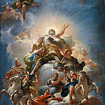 Luca Giordano – Apotheosis of the Medici, Part 6 National Gallery UK