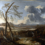 Salvator Rosa – Landscape with Tobias and the Angel, Part 6 National Gallery UK
