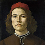 Part 6 National Gallery UK - Sandro Botticelli - Portrait of a Young Man