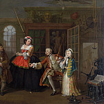 William Hogarth – Marriage A-la-Mode – 3, The Inspection, Part 6 National Gallery UK