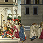 Sandro Botticelli – Three Miracles of Saint Zenobius, Part 6 National Gallery UK