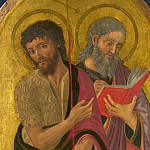 Zanobi Machiavelli – Saint John the Baptist and Saint John the Evangelist, Part 6 National Gallery UK