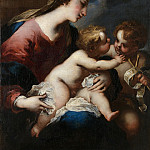 Valerio Castello – The Virgin and Child with Saint John the Baptist, Part 6 National Gallery UK
