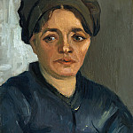 Vincent van Gogh – Head of a peasant woman, Part 6 National Gallery UK