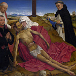 the Workshop of Rogier van der Weyden – Pieta, Part 6 National Gallery UK