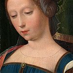 the Workshop of the Master of the Female Half-Lengths – A Female Head, Part 6 National Gallery UK