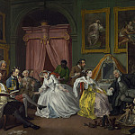 Part 6 National Gallery UK - William Hogarth - Marriage A-la-Mode - 4, The Toilette