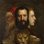 Titian and workshop – An Allegory of Prudence, Part 6 National Gallery UK