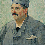 Part 6 National Gallery UK - Portrait of a Restaurant Owner, possibly Lucien Martin - Vincent van Gogh