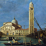 Studio of Canaletto – Venice – S. Pietro in Castello, Part 6 National Gallery UK