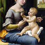 Raphael – The Madonna of the Pinks , Part 6 National Gallery UK