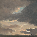Simon Denis – Sunset in the Roman Campagna, Part 6 National Gallery UK