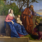 Vincenzo Catena – A Warrior adoring the Infant Christ and the Virgin, Part 6 National Gallery UK