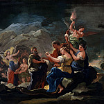 Luca Giordano – The Cave of Eternity, Part 6 National Gallery UK