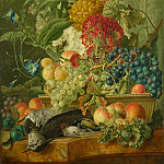 Part 6 National Gallery UK - Wybrand Hendriks - Fruit, Flowers and Dead Birds