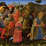 Zanobi Strozzi – The Adoration of the Magi, Part 6 National Gallery UK