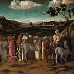 the Workshop of Giovanni Bellini – The Adoration of the Kings, Part 6 National Gallery UK