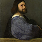 Titian – A Man with a Quilted Sleeve, Part 6 National Gallery UK