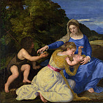 Part 6 National Gallery UK - Titian - The Aldobrandini Madonna