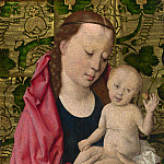 Workshop of Dirk Bouts – The Virgin and Child, Part 6 National Gallery UK