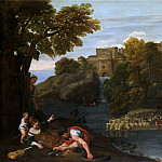 Domenichino – Landscape with a Fortified Town, Part 6 National Gallery UK