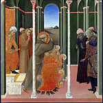 Sassetta – Saint Francis before the Sultan, Part 6 National Gallery UK