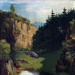 The Pool, Gustave Courbet