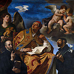 Guercino – Saint Gregory the Great with Jesuit Saints, Part 6 National Gallery UK