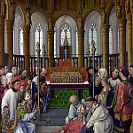 Rogier van der Weyden and workshop – The Exhumation of Saint Hubert, Part 6 National Gallery UK