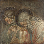 Spinello Aretino – Two Haloed Mourners, Part 6 National Gallery UK