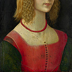 Workshop of Domenico Ghirlandaio – Portrait of a Girl, Part 6 National Gallery UK