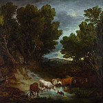 Part 6 National Gallery UK - Thomas Gainsborough - The Watering Place