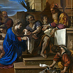 Guercino – The Presentation of Jesus in the Temple, Part 6 National Gallery UK