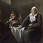 The Le Nain Brothers – Four Figures at a Table, Part 6 National Gallery UK