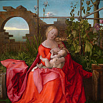 Workshop of Albrecht Durer – The Virgin and Child , Part 6 National Gallery UK
