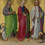Part 6 National Gallery UK - Stephan Lochner - Three Saints