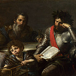 Part 6 National Gallery UK - Valentin de Boulogne - The Four Ages of Man