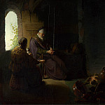 Rembrandt – Anna and the Blind Tobit, Part 6 National Gallery UK