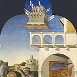 Part 6 National Gallery UK - Sassetta - Saint Francis and the Poor Knight, and Franciss Vision