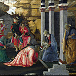 Sandro Botticelli and Filippino Lippi – Adoration of the Kings, Part 6 National Gallery UK
