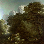 Thomas Gainsborough – The Market Cart, Part 6 National Gallery UK